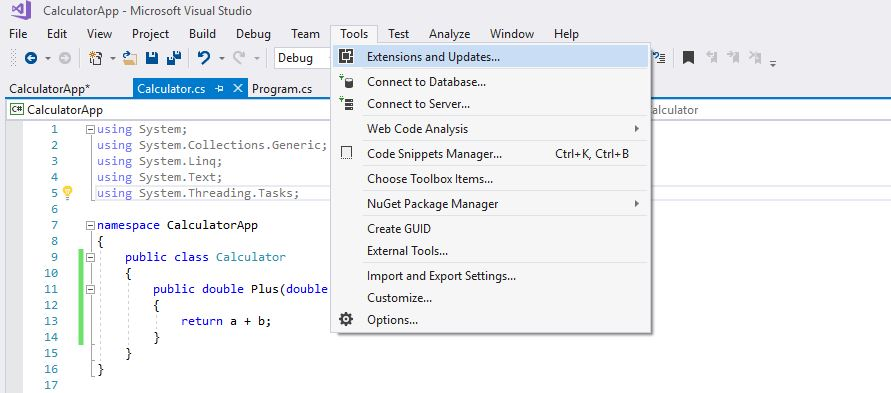 Demo: Unit Testing in Visual Studio (C#) – Ugly Duckling